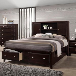 Lifestyle C6498A Queen Storage Bed