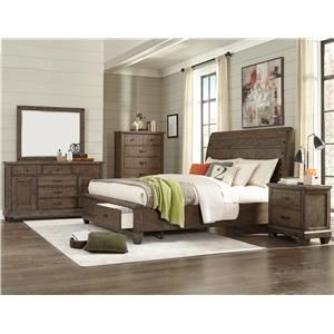 Lifestyle JD Mex King 5 Piece Bedroom Group