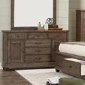 Lifestyle JD Mex Dresser  - Item Number: C7131A-045