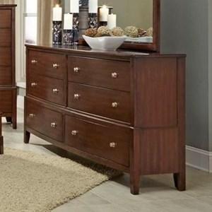 Lifestyle C7189 6 Drawer Dresser