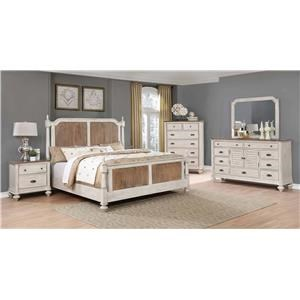 Lifestyle Harlow 4PC Queen Bedroom Set