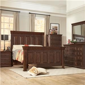 Lifestyle Johnson Queen 5 Piece Bedroom Group