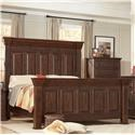 Lifestyle Johnson King Bed - Item Number: C7298A-GP0+GPG+BPN
