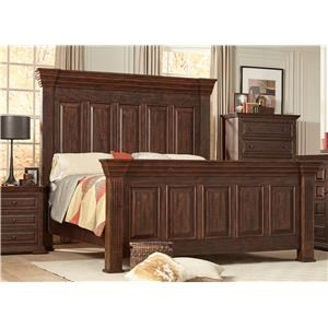 Lifestyle C7298 King Panel Bed