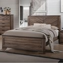 Lifestyle C7309A Queen Bed - Item Number: C7309A-Q48-XXXX+BXN-XXXX