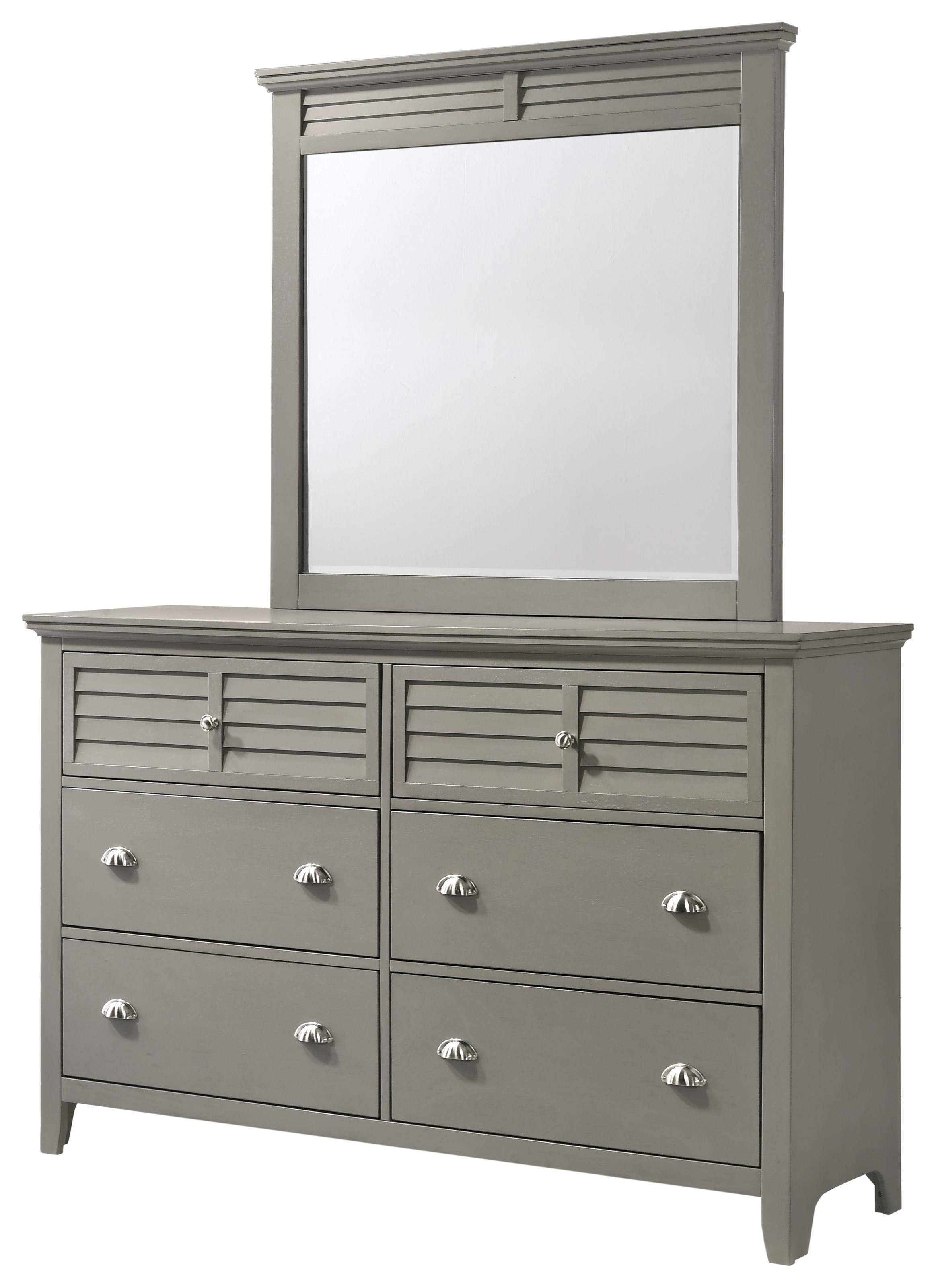 C7313GREY Double Dresser by Lifestyle at Furniture Fair - North Carolina