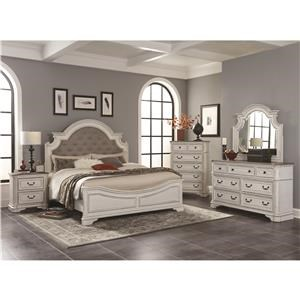 Lifestyle Magnifico King 5 Piece Bedroom Group
