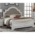 Lifestyle C8023A King Upholstered bed - Item Number: C8023AK