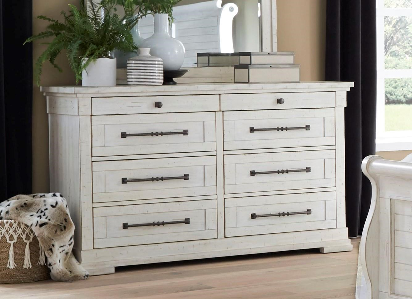 C8047 Double Dresser by Lifestyle at Furniture Fair - North Carolina