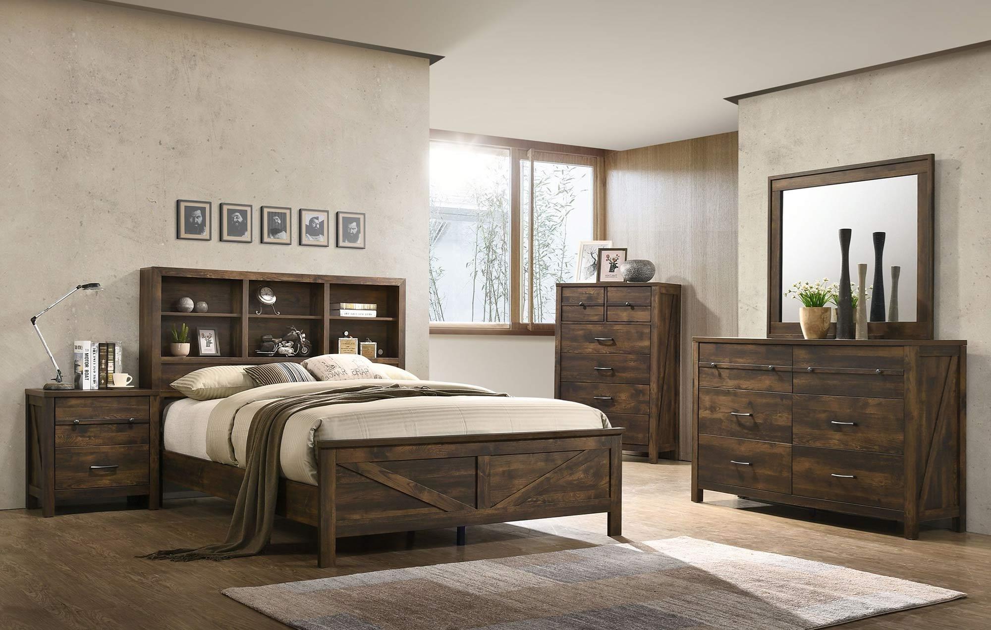 Dale 4pc King Bedroom Set