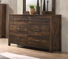 C8100A Rustic Dresser by Lifestyle at Furniture Fair - North Carolina