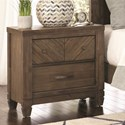 Lifestyle Allie Nightstand - Item Number: C8121A-020
