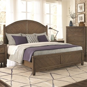 Lifestyle Allie King Panel Bed