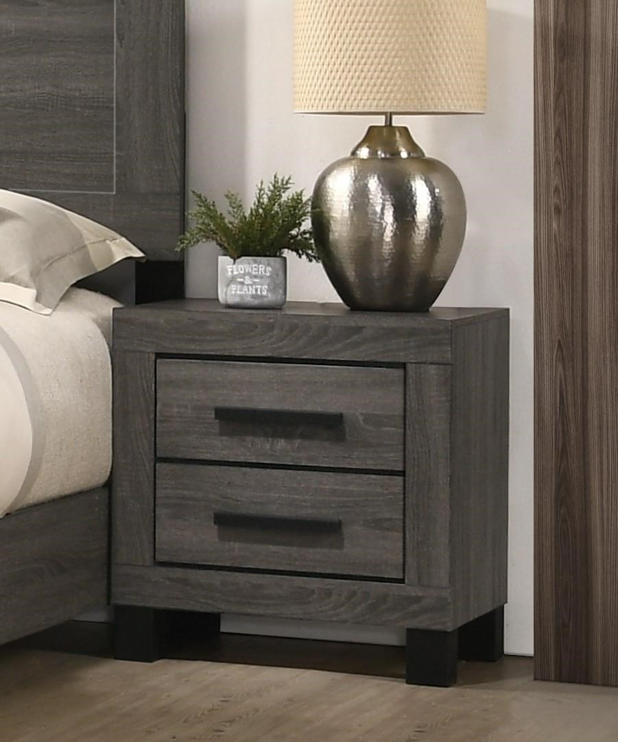 C8321A TWO DRAWER NIGHTSTAND by Lifestyle at Furniture Fair - North Carolina