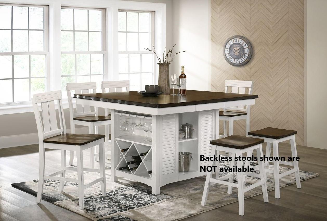 C8572 C8572 Pub table x 4 Pub Chairs by Lifestyle at Furniture Fair - North Carolina