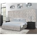 Lifestyle C9207A King Upholstered WALL BED - Item Number: C9207Aking