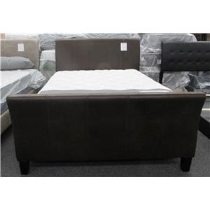 Lifestyle C9295 Queen Faux Leather Bed