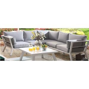Outdoor LAF and RAF Sectional Sofa
