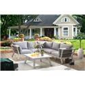 Lifestyle COD826 5 PC Outdoor Conversation Set - Item Number: 770182663