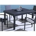 Lifestyle COD829 Black Outdoor Dining Table - Item Number: 700182998