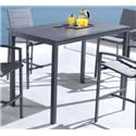 Lifestyle COD829 Black Outdoor Pub Table - Item Number: 710182990