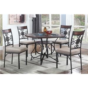Lifestyle D1680 Table and Chairs