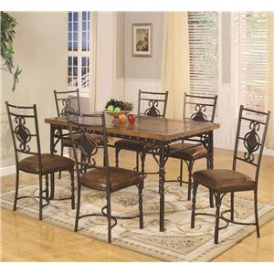 Lifestyle DC088 7 Piece Dining Table Set