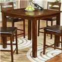 Lifestyle Talia Pub Table with Block Legs - Table Shown May not Represent Size indicated