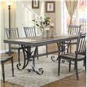 Lifestyle DC340 Metal Dining Table