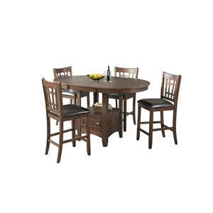 Lifestyle DMX100 CHERRY Pub table x 4 stools