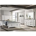 Lifestyle Shania King 5 Pc Group - Item Number: C8309A 5-Pc King Bedroom Group