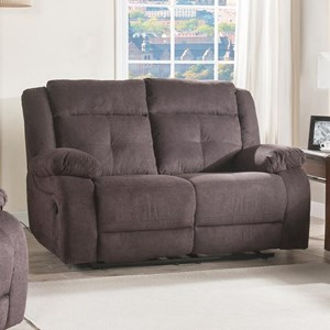 Lifestyle U12623 Casual Reclining Loveseat