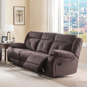 Lifestyle U12623 Casual Reclining Sofa