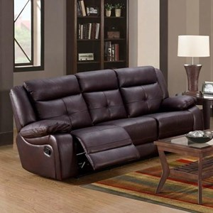 Lifestyle U12623 Casual Reclining Sofa