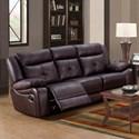 Lifestyle U12623 Casual Reclining Sofa - Item Number: U12623-61B-XXXX-DXM