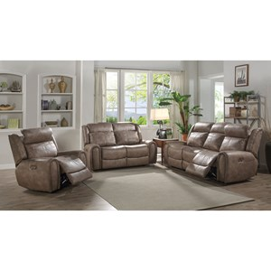 Lifestyle U61493 Reclining Living Room Group