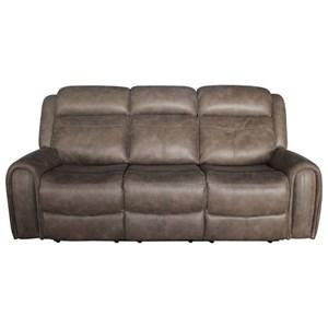 Lifestyle U61493 Power Motion Sofa with 2 Power Headrests