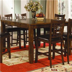 Lifestyle California Eureka Counter Height Leg Table