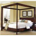Ligna Furniture Canali Contemporary King Poster Bed - 6808H+F+RS+CA
