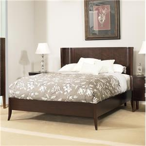 Ligna Furniture Port Queen Crescent Low Profile Bed