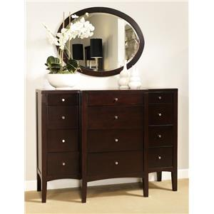 Port Dresser and Mirror by Ligna Furniture