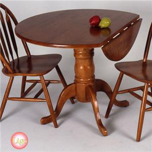 Ligo Products Country Classics Empire Drop Leaf Round Table