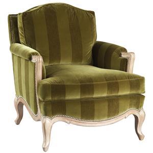 Lillian August Custom Upholstery Sophia Bergere Chair