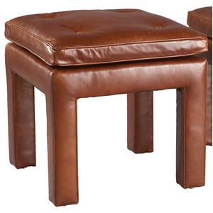 Lillian August Custom Upholstery Upholstered Square Wallingford Bench