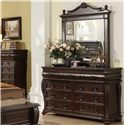 Home Insights Hillsboro Dresser and Landscape Mirror - Item Number: B2160-100+200