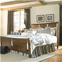 Linwood Furniture Baisley Park Queen Sleigh Bed - Item Number: 200-189C