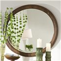 Linwood Furniture Baisley Park Oval Mirror - Item Number: 200-206