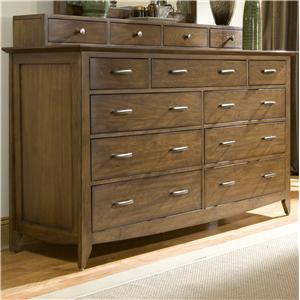 Dresser with Drawer Deck