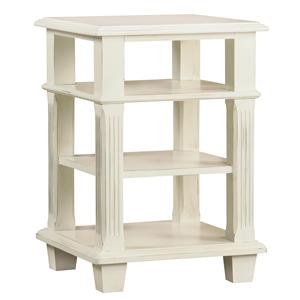 Linwood Furniture Villages of Gulf Breeze Open Nighstand/End Table