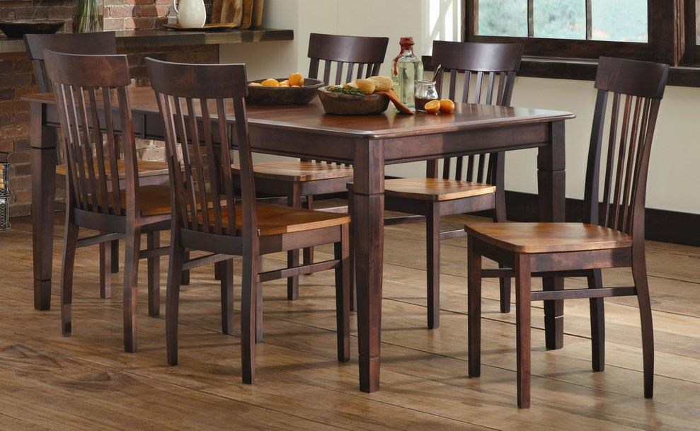 L.J. Gascho Furniture Anniversary II Anniversary 5-Piece Solid Wood Dining Set - Item Number: 358841572
